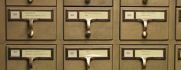 University of Michigan Card Catalog by David Fulmer
